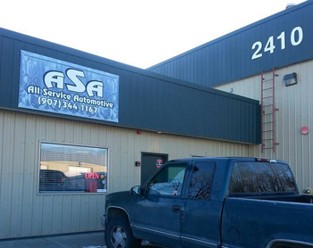 auto repair anchorage
